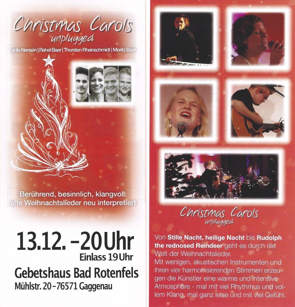 2019-12-13 Chrismas Carols unplugged-flyer